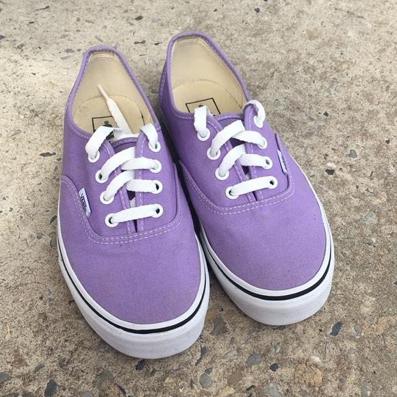 Vans Shoes | Womens Lilac Size 75